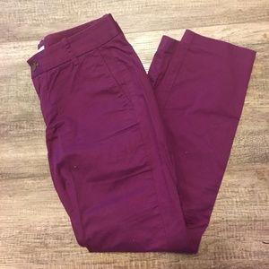 J Crew Frankie chino pants size 4